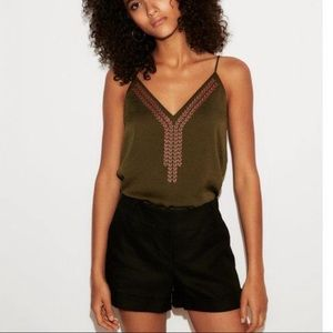 EXPRESS Embroidered Cami